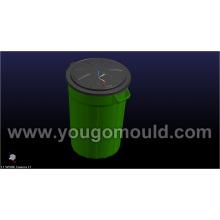 120L Dustbin Mould