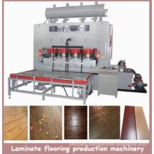 Short Cycle Melamine Laminate Flooring Production Line