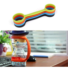 BPA Free Water Bottle Silicone Strap Holder