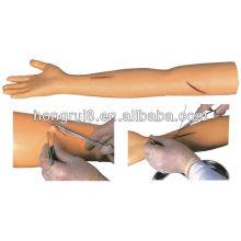 Modelo avançado de braço de prática de sutura cirúrgica ISO