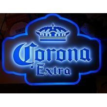 Letrero LED Corona 3D