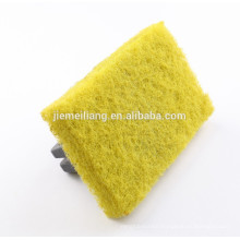 Home Appliance China Manufacture Cleaning scrubber nylon polishing pad with handle