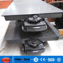 15T gauge 600mm mining flat rail car from Chinacoal Group