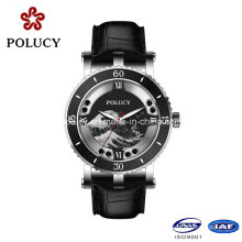 China Factory Genuine Leather Brand Watch Lady Quartz Watches