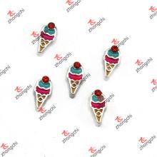 Nouveaux contes flottants Cone à la crème glacée pour les enfants Locket (FC)