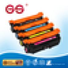 Ce250 cartucho de tóner de color para impresora HP 3525 fabricante