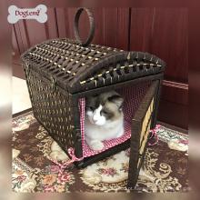 Doglemi soft natureza pet crate cat casa lidar com caverna pet house