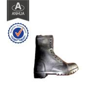 Melhor qualidade de couro genuíno military army police tactical boot