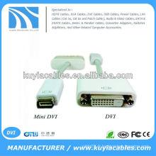 Câble adaptateur mini DVI vers DVI pour Apple MacBook