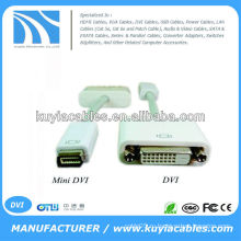 Кабель-адаптер Mini DVI-DVI для Apple MacBook
