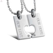 Free sample hollow heart pendant,lover pendant jewelry,forever love pendant design