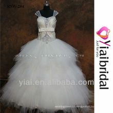 RSW204 Sequence Beads Laces Wedding Dress