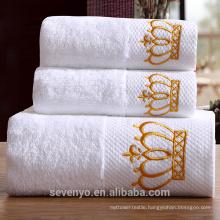 100% cotton plain design high quality bath towel
