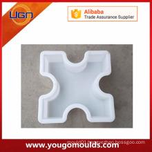 Plastic cobblestone cover plate