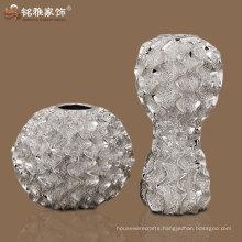 home decorative elegant design high-end resin flower vase