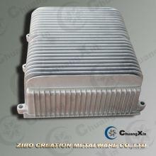 Aluminium Die Casting / Aluminium Casting / Electric Vehicle Radiator Aluminium Die Casting