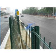 Fil métallique de barrière de fil de trame double (usine)