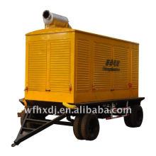 8KW-1500KW camión remolque del generador