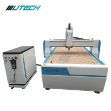 3D letter carving router machine on wood plastic