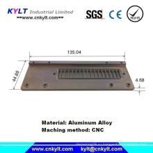 Части обработанные алюминиевым алюминием для компьютера