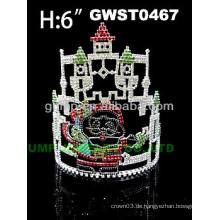 Sankt Schloss Tiara und Krone