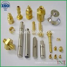 personnalisés de broches de précision de fabrication métallique