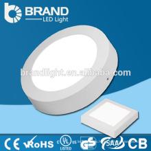 6w / 12w / 18w / 24w Oberfläche montiert runde Led Decke Panel Licht
