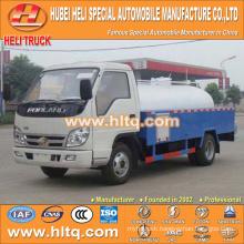FOTON/FORLAND LHD/RHD 4x2 4000L sewer dredge truck 98hp engine cheap price