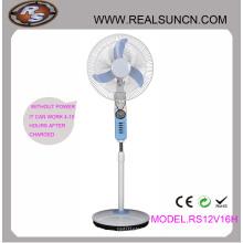 AC DC Dupla função recarregável ventilador 16 polegadas com lâmpada LED (RS12V16H)
