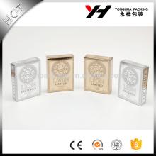 recycled materials laminated materials perfume paper box white