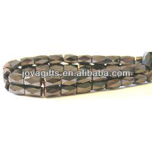 Grânulos facetados magnéticos 5 * 8MM para fazer jóias