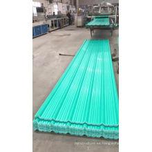 proyecto de techo anticorrosión teja de plástico pvc