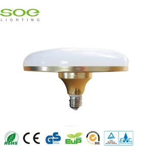 12W Golden UFO lampu LED