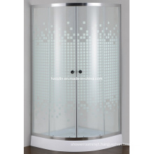 Painted Glass Simple Shower Room (E-01P)
