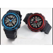 Relógios de Digital dos homens da forma do diodo emissor de luz do esporte para o pedido