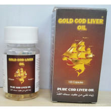Gold Cod Liver Oil, Vitamin a and D Soft Capsules