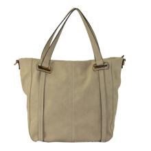 New Arrival Ladies PU Handbag, Top Closure, Inside Pockets