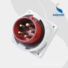 Saip / Saipwell Высокое качество 5-контактный штепсель и розетка с сертификацией CE