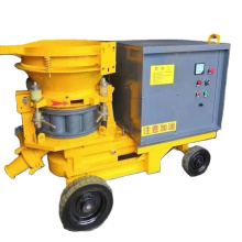 Wet concrete spraying machine engineering concrete spray wet machine the structure is simple and adaptable