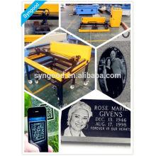 Machine de gravure et de découpe laser Syngood SG6090-special pour pierres noires en granit noir