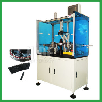 Electric bicycle motor stator wedge insertion machine