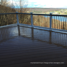 Parkey flooring flexible corners outdoor wpc floor decking with a cheap price