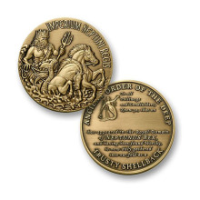 The Honours Trusty Shellback Challenge Coin