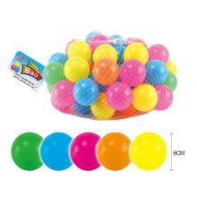 Bola colorida al por mayor del hueco del PE del PE del 6cm (10235294)