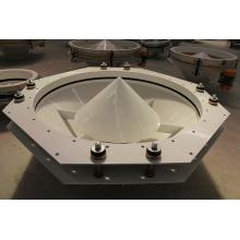 High Efficiency Corn Flour Mill Machine Part Tdxz Series Vibrating Machine Bottom Unloader