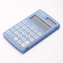 Calculadora plástico azul ligero