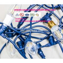 SLyt-1269 UL-Zulassung IP44 wasserdichte Amerika-Stecker Netzkabel Schnur Lichter wetterfest