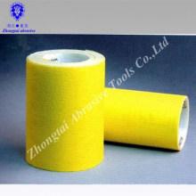 rollo de papel de arena de papel de corindón blanco grado D