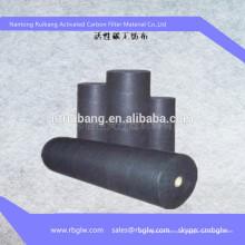 rolo de pano de fibra de carbono ativado de fibra de poliéster