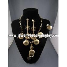 conjunto de jóias personalizadas